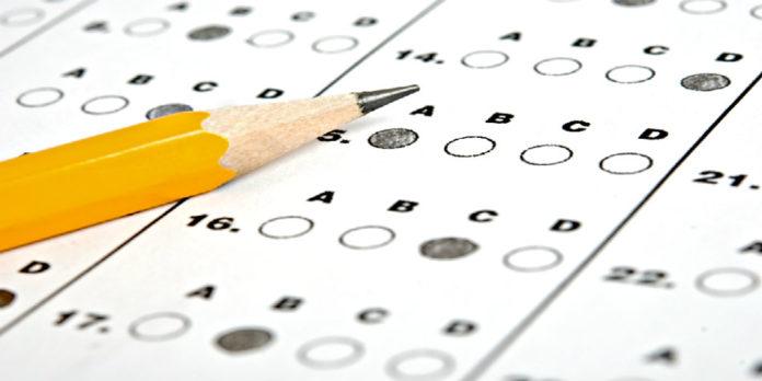 Copertina dei test